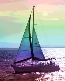 #CrazyCamera sailboat