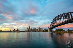JOH_6046 (Johan Lolos) Tags: sunset beach bondi sunrise harbour sydney australia watsonsbay coogee sydneyharbourbridge australie worldtrip coogeebeach worldtour tourdumonde nikond600 johanlolos