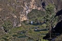 Cataratas de Carhuayno -  Huancaya (6818) (Marcos GP) Tags: viaje fall peru water de lima paseo turismo catarata excursion fuera huancaya yauyos marcosgp