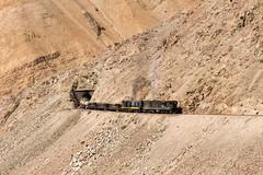 Full throttle! (Guillermo Andre) Tags: chile trenes cooper desierto railways cobre llanta potrerillos mineria codelco fundicion montandon ferronor