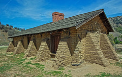 Fort Tejon Officer Quarters (socaltoto11) Tags: california history adobes historical canyons grapevine natgeo californiastateparks canonphotography forttejon
