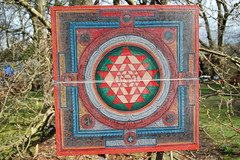 Sri Chakra Yantra (TREASURES OF WISDOM) Tags: sriyantra quality worship wow wonderful whatisthis wisdom exhibition ethnographic religious tibetan tantric yes unseen unusual unknown museum intresting om ommanipadmihum oldscript pagan puja painting artefact artifact spiritual shamanic spirituality sacred spirit fantastic healing hinduism longevity lotus love like collection view vibes votive visit buddhist buddhism brilliant namaste nikon nice magic mythical mystic mystery yantra buddhistart poetic mandala whole universe dharma