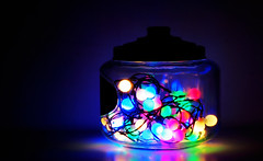 In the candy jar (JohannaXixi) Tags: dogwood52 dogwood2017 dogwoodweek6 candyjar lights