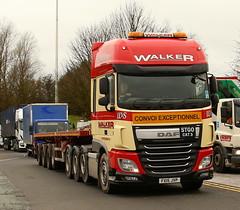 DAF XF Stgo Cat 3  Walkers Eight Wheel Heavy Haulage FX15JVP Frank Hilton IMG_5077 (Frank Hilton.) Tags: classic truck lorry eight wheel maudsley aec atkinson albion leyalnd bristol austin outside heavy haulage crane 8 axle