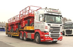 Scania Stgo Cat 2 Dem Plant T4DEM Frank Hilton IMG_5103 (Frank Hilton.) Tags: classic truck lorry eight wheel maudsley aec atkinson albion leyalnd bristol austin outside heavy haulage crane 8 axle