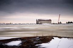 Nordic winter (Susanne Hjertø Wiik) Tags: köpmannebro långö naturlandskapnaturfenomen steder vær dramatiskhimmel landskap lugnet mellerud skyer sverige vinter vänern årstid