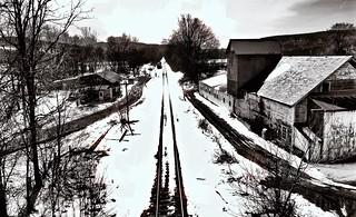 Hoosick Falls Rail Line