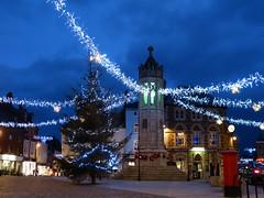 Launceston Christmas Light (CalamityCam 2011) Tags: iplymouth nighttime launceston cornwall christmaslights