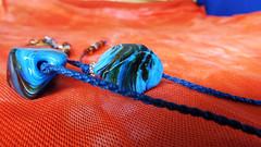 Macro Mondays - Orange and Blue (Liliane Loose) Tags: orangeandblue orange blue macromondays macro mondays color