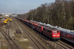 151 073 + 151 126 | Duisburg-Wedau | 25.03.2017 (R.O. Spotting) Tags: baureihe 151 doppeltraktion db cargo germany train duisburg wedau