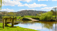 Arley ....Ancient & Modern (williamrandle) Tags: ferry arley upperarley bewdley worcestershire uk england spring localhistory history river riversevern water riverbank trees woods woodlands field green bluesky clouds outdoor landscape sunshine reflections nikon d7100 sigma1835f18art
