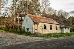 Daugherty Schoolhouse (Back Road Photography (Kevin W. Jerrell)) Tags: schools churches backroadphotography historic leecountyvirginia jonesville daysgoneby nikond60 rural ruralphotography countryroads countrychurches countryscenes southwesternvirginia