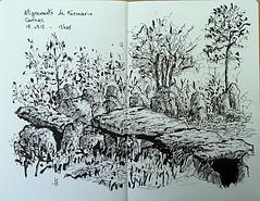 Kermario (Jean-Paul Rivière) Tags: sketch ink pittartistpen pentel
