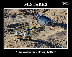 MISTAKES (76 Minds) Tags: humor toys lego creative starwars funny geek