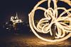 Fire show near Notre-Dame, Paris, France (Julien CHARLES photography) Tags: europe fire fireshow fireperformance france notredame notredamedeparis paris seine feu longexposure night nuit performance poselongue quai quaideseine show spectacledefeu