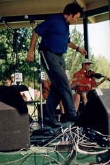 SF - Benoit dancing 1 (rumimume) Tags: rumimume 90s owensound ontario canada kelsobeach photo music festival summerfolk performer outdoors people folk fun summer august weekend