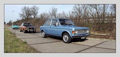 Fiat 128 Speciale 1100 (Ruud Onos) Tags: 47mf11 fiat 128 speciale 1100 fiat128speciale1100 stichting rotterdamse klassiekers organiseert protestmeeting tegen milieuzone op 12 maart stichtingrotterdamseklassiekersorganiseertprotestmeetingtegenmilieuzoneop12maart