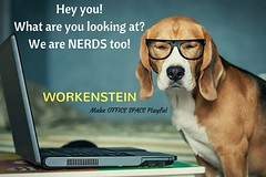 We are NERDS too! (lucifermorningstarblogger) Tags: commercial office space for rent in chennai property off shore development centre hyderabad hitec city business center fully furnished coworking shared