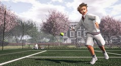 The simplicity of it is this: give everything you have to give in every moment, completely. (Skippy Beresford) Tags: boy child childhood kids tennis play determination dedication energy positive light game court action fun sports