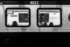 Affection (CaOS - www.caosphotos.com.br) Tags: street subway metro rio de janeiro black white