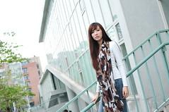 喬喬1010 (Mike (JPG直出~ 這就是我的忍道XD)) Tags: 喬喬 台灣大學 d300 model beauty 外拍 portrait 2013
