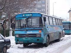 An Esulaş bus, Eskişehir, Turkey (Steve Hobson) Tags: eskişehir turkey bus mercedes winter snow esulaş