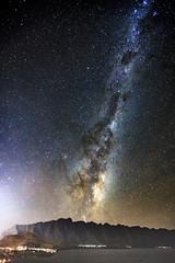 Milky Way Over Queenstown (Chiu Kang) Tags: milkyway astrophotography longexposure 5d mk3 skyscape queenstown newzealand