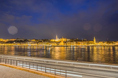 D6C_0575-HDR.jpg (scicali) Tags: hdr budapest ungheria hu fishermans bastion bastione pescatore skyline night river lights