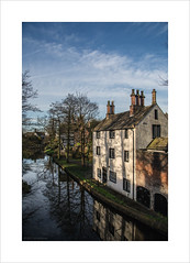 Sacha House II (andyrousephotography) Tags: worsley bridgewatercanal canal sachahouse whitewashed building architecture historic packethouse village morning sunlight shadows trees andyrouse canon eos 5d 5d3 mkiii