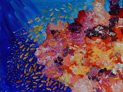The Coral Reef (BKHagar *Kim*) Tags: bkhagar art artwork painting paint acrylic artday thursday
