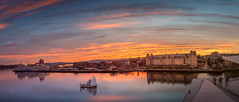 Amazing evening (Ajnaraja) Tags: panorama landscape longexposure sky golden hour magical light bracketing 1000x nd filter oslo hdr