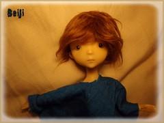 Jann Lucca (Seiji-Univers) Tags: bjd doll balljointeddoll tan blank cute tiny girl fren french artist nefer kane ck circuskane vali jann lucca selfie arrival boxopening unboxing seiji seijiunivers