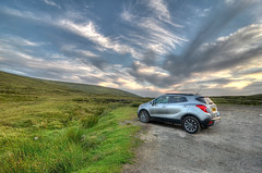 Everything in Life is some place else (Nola Nate) Tags: scotland car highlands isleofskye greatbritain quiraing hills mountains landscape sky nature ibeauty