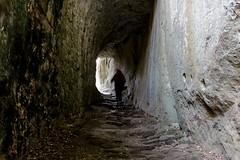 """Bomarzo VT - It  """"Trekking"""" (Fabrizio Lucchese 1') Tags: bomarzo italia galleria sentiero lazio tunnel canon760d fabriziolucchese italy italien"""