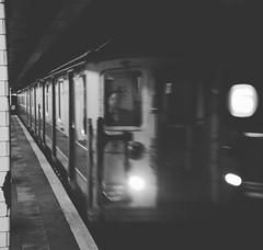 NYC Subway (Billy W Martins ) Tags: ny nyc subway subwaystation newyorksubway train trainstation trainline publictransportation transportepúblico mta metro blackandwhite monochrome mono line6 linegreen nikon d7100 newyork newyorkcity