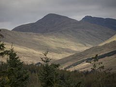 The Textured Land 2 - Crianlarich April 2017 (GOR44Photographic@Gmail.com) Tags: mountains crianlarich ben more trees gor44 scotland panasonic g2 45150mmf456 cloud highlands peaks