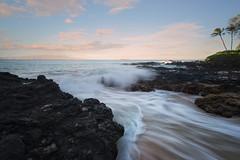 Wave Over Sand (jadennyberg) Tags: maui hawaii longexposure secretbeach sand waves ocean landscape