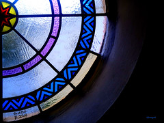 Courbes - USUT (frenziM) Tags: church window churchwindow usut courbe kurve curve blue
