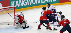 Ice_Hockey_World_Champ_Korea_NorthKorea_08 (KOREA.NET - Official page of the Republic of Korea) Tags: icehockey gangneungsi korea northkorea 남북전 아이스하키 강릉하키센터 한국 북한 2018평창동계올림픽 평창동계올림픽