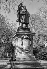 Albert Ball Memorial (PeteZab) Tags: albertball vc victoriacross pilot flyer flyingace fighterace wwi ww1 worldwar1 redbaron peterzabulis petezab memorial statue royalflyingcorp