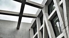 (t_lasserre) Tags: architecture concrete brutalist beton beauvoir simone bibliotheque ricciotti rudy rouen
