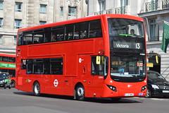 LJ17 WRE (MV38204) Tower Transit (hotspur_star) Tags: londontransport londonbuses londonbus londonbuses2017 mcvvolvoevoseti tfl transportforlondon hybridbus hybridtechnology busscene2017 doubledeck towertransit lj17wre mv38204 13