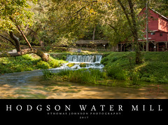 Hodgson Water Mill Waterfall (Thomas  Johnson Photography) Tags: missouri outside outdoors canon digital 40d scenic beautiful water hodgsonwatermill mill watermill 2017 thomasjohnsonphotography ©thomasjohnsonphotography red old historic rushing trees unitedstates