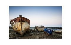 The Long Silence .... (Emmanuel DEPARIS) Tags: emmanuel deparis nikon d810 bretagne bretany wreck épave finistère brest crozon boat bateau