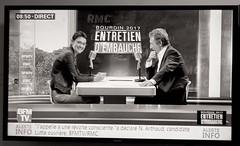 _DSF3686 copie (sergedignazio) Tags: france paris fuji xpro2 nathalie arthaud jeanjacques bourdin bfm élection présidentielle émission entretien dembauche