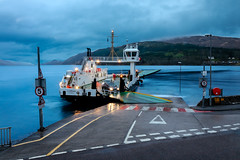 Corran Ferry (David Ramalho) Tags: ferry loch scotland highlands lake ferryboat boat vessel ship 2017 cloudy eosm5 canon