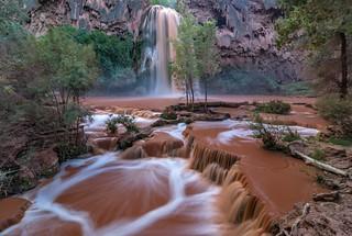 *Havasu Falls @ Muddy Water II*