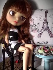 Toy-in-the-Frame Thursday & Blythe-a-Day April#5 Happy Birthday: Francoise Dorleac