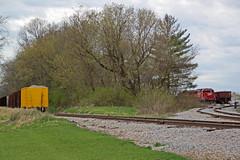 Rocks and more rocks (AndyWS formerly_WisconsinSkies) Tags: train railroad railway railfan canadianpacificrailway canadianpacific cprail cp emd sd60 emdsd60 locomotive