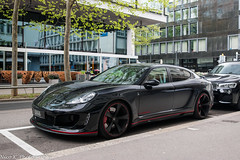 Gemballa Mistrale (Nico K. Photography) Tags: gemballa mistrale black red supercars rare nicokphotography switzerland zürich